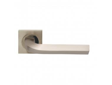 Trendy Design Manital Satin Nickel Pair of Door Lever Handles