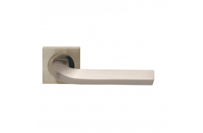 Trendy Design Manital Satin Nickel Pair of Door Lever Handles