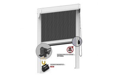 Magnetic Mosquito Net for Window with Chain Control Kiss 50 Zanzar
